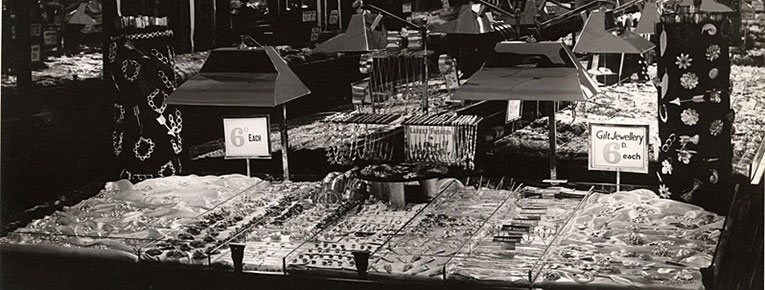 Galbonz Jewellery, shown here on display in a London Woolworth store in 1932, was supplied by a close friend of the Pasolds, Salo Rand. They were taken aback at how quickly Woolworths ramped up their orders and the sheer profit that Rand made on the deal.