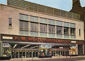 A new look F. W. Woolworth store opened in Gallowtree Gate, Leicester in 1965