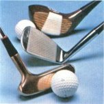The range of golf clubs was the heart of the leisure offer in the large City centre stores and also at Woolco out-of-town