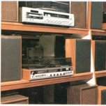 The audio and television offer was expanded in the 1970s, though the chain struggled to persuade some of the leading brand names to sell to them. The best sellers of the decade were record players, eight-track stereos and transistor radios