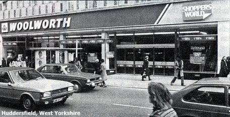 Some Shoppers World stores like this one in Huddersfield traded as a concession within the local Woolworth's
