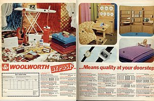 Woolworths by Post, an advertisement from the popular Radio Times in 1975