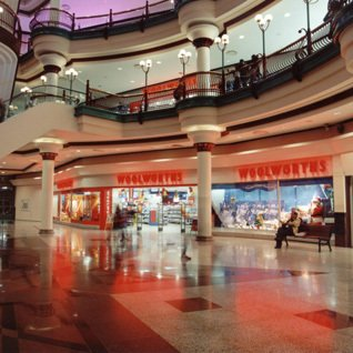 A new store for a new millennium - a dominant two floor Woolworths in Gateshead's Metro Centre