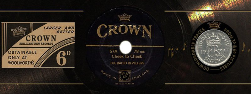 Crown Records 57A: Cheek to Cheek