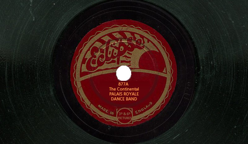 Eclipse Records 877A - The Continental