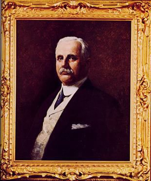 A portrait in oils of Frank Winfield Woolworth (1852-1919), which once hang in the Empire Room atop his Woolworth Building in New York City