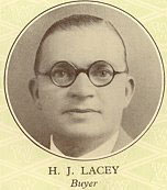 Bill (H.J.) Lacey was the brains behind the restaurants in the Blackpool Woolworth store. He went on to become the chain's buyer for food and ice-cream as well as the restaurants, and had to update the offer to deal with the pressures of World War II.