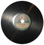 Little Marvel Gramophone Records like this one were produced for F. W. Woolworth by the Vocallion Gramophone Record Company between 1921 and 1928