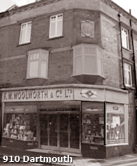 Woolworth opened a store at 13 Victoria Road, Dartmouth, Devon (No. 910) on 10 November 1955. Its first Manager was Mr. William Pell.