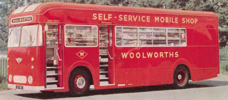 Woolworths on Wheels - the short-lived Mobile Shop, first and last of the fleet thanks to sustained public opposition