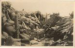 The Second English Trench at Ypres in the First World War