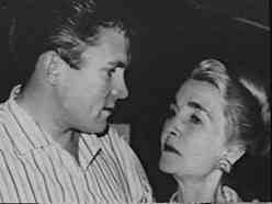 Barbara Hutton with her son Lance, who became a famous racing driver. She was an excellent mother.