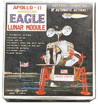 The Eagle Lunar Module - a must-have toy at Christmas 1969 and Easter 1970