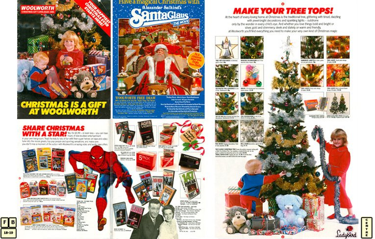 A new look Woolworth Christmas Catalogue for 1985, featuring Ladybird Clothing for the first time. It was all part of a major overhaul of the brand by its new owners